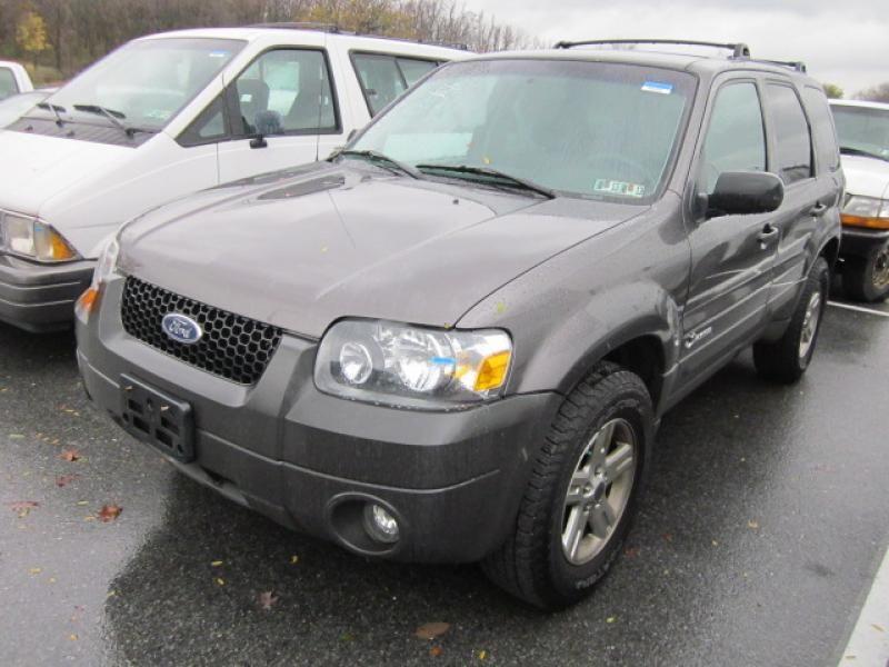 2006 FORD ESCAPE 4X4 4C gray 12 1 2012 Ford trucks