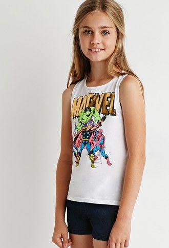 1d08e76ed1989 Marvel Superheroes Tank (Kids)