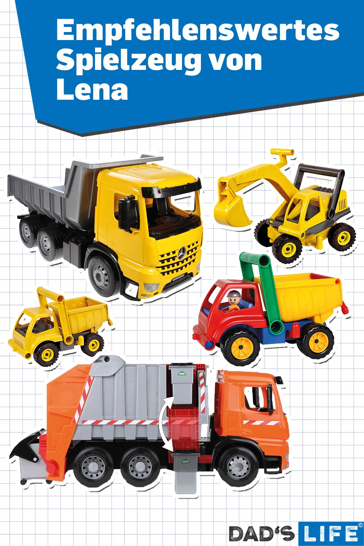 Lena Spielzeug Bagger