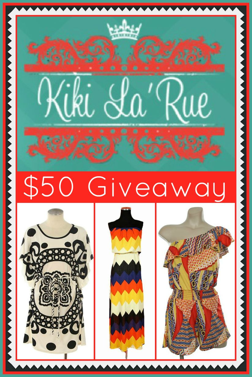 Because Shanna Said So...: GIVEAWAY - Kiki La'Rue $50 Store Credit