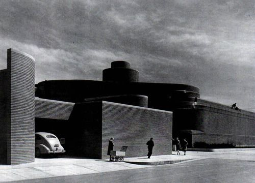 Frank Lloyd Wright. Administration Building for S. C ...