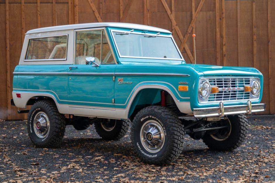 1968 Ford Bronco Ford Bronco Ford Bronco For Sale Classic Bronco