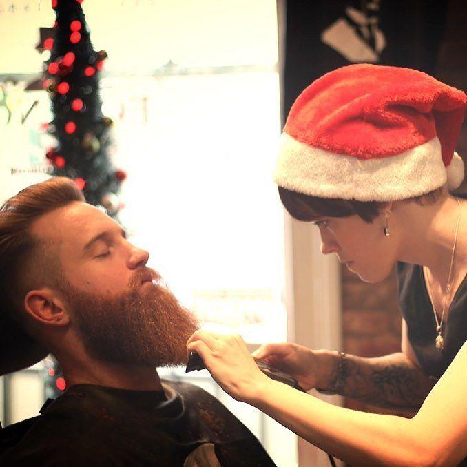 A little Beard Grooming by Equinox Stylist Claire Heenan Looking dapper #beard  #beardgang #beardedvillains #beardlife #beardgrooming  #Schorem #BritishBarbers #BritishMasterBarber  #Southampton #SouthamptonBarber #SouthamptonBarbers #BarbersSouthampton #BarberSouthampton #BarberShopSouthampton  #BarberUk #BarberLoveUk #BarberLife #NewWorldBarbers #saintsfc #southamptonfc #coyr #wemarchon#BarberShopConnect #UkBarber #Barber4Life #Barbersinctv #BarberWorld #BarberNation #ModernBarberMag…