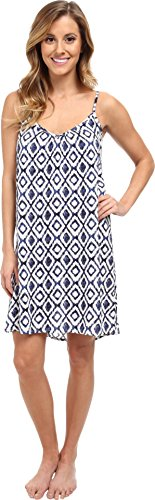 P.J. Salvage Women's Ikat Print Slip Sleep Dress