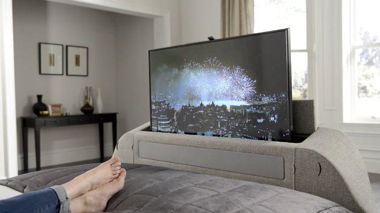 fernsehgerät flaschbildschirm tv bett hebevorrichtung hochfahren
