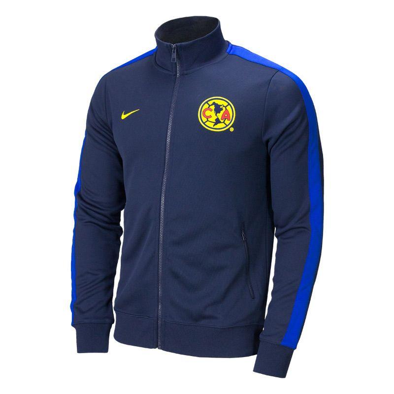 promo code 91754 dad0a Nike Club America Authentic N98 Soccer Jacket - Obsidian ...