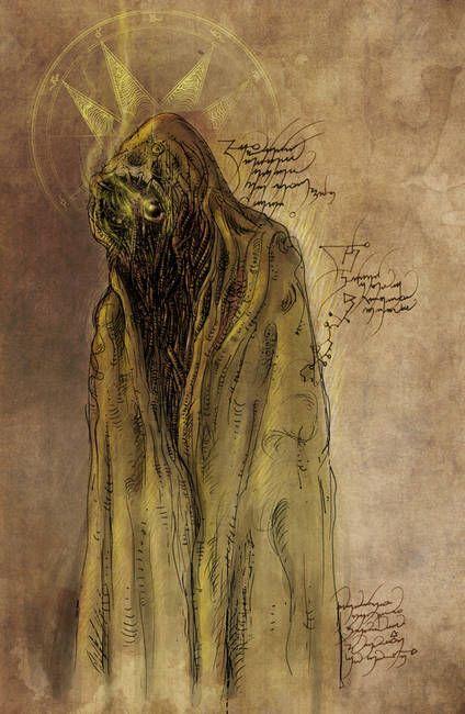Hey Fluffy Horror Dark Fantasy Demon Cats Art Illustration Art Print Wall Art Witcher Gothic Absurd ART Print