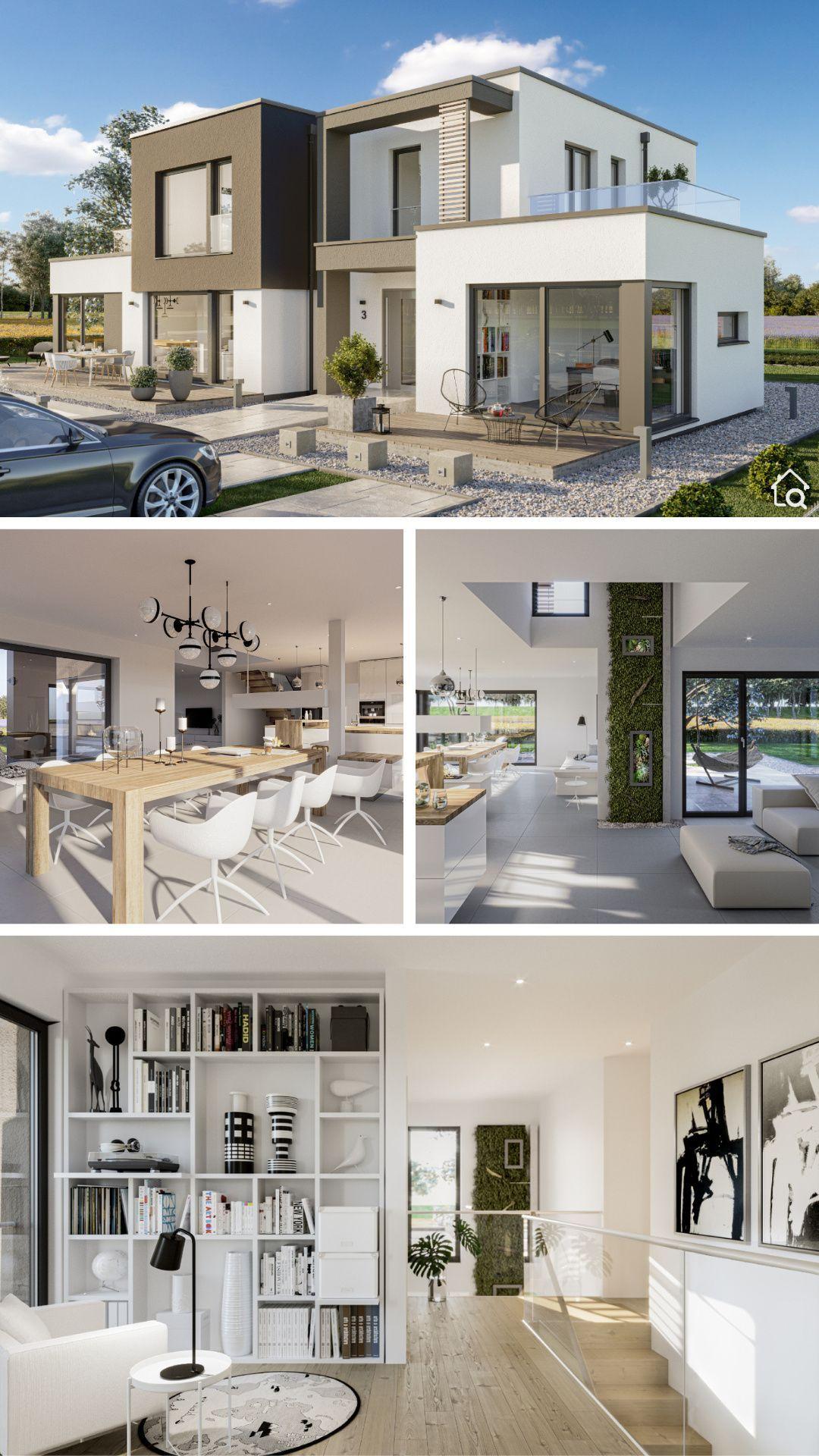 Exclusive Modernes Designhaus mit Flachdach Architektur, Haus Design Ideen ...