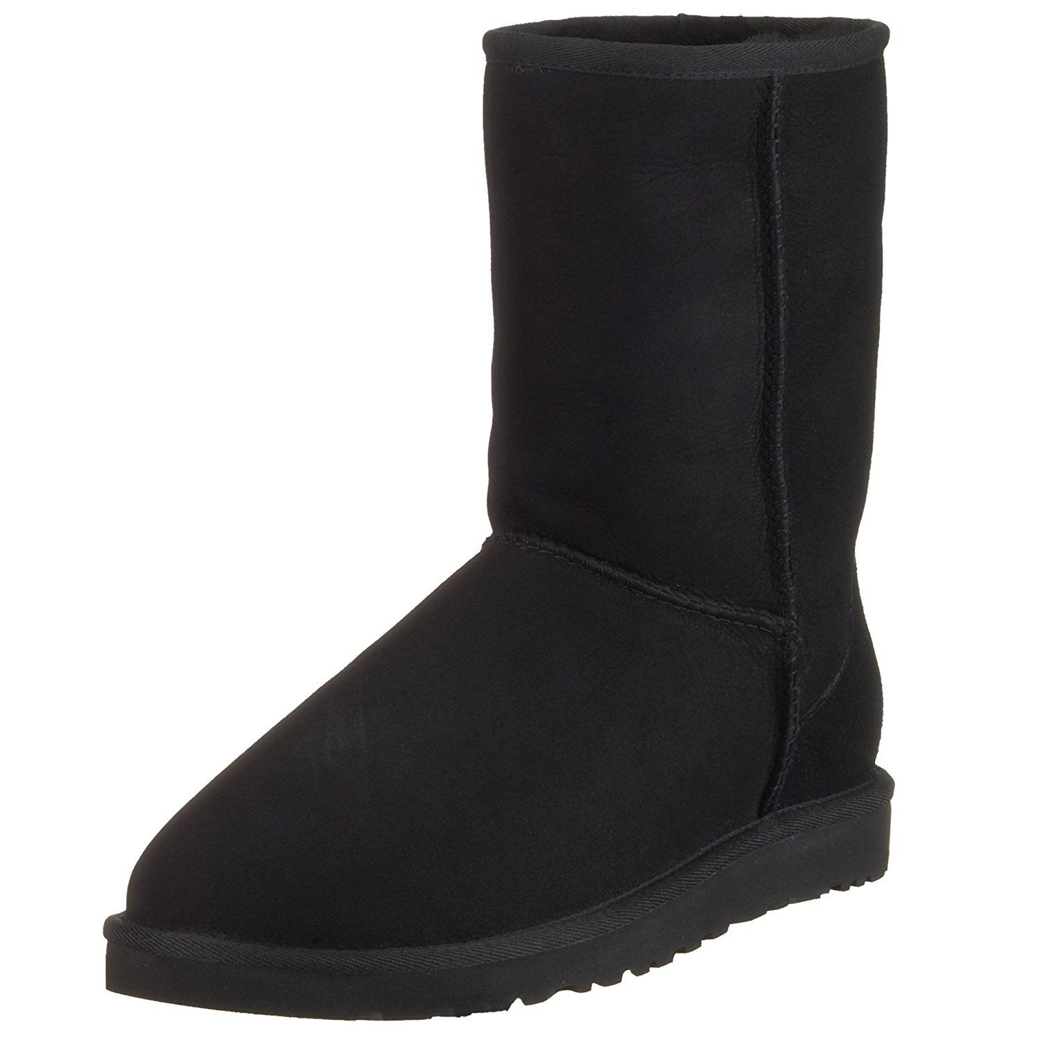 UGG Men's Classic Short Winter Boot, Black, 15 M US ** This is