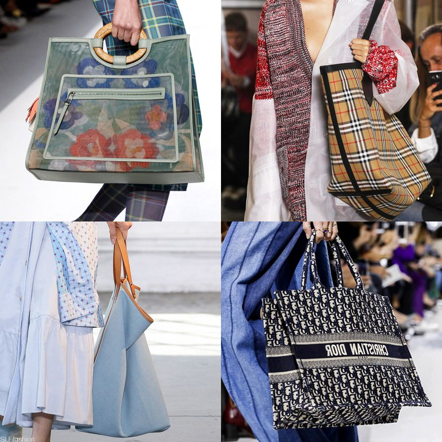 Populaire Bags Trend for Spring Summer 2018: Plastic shopping bag. Public  KG62