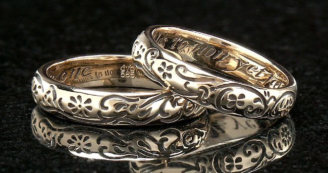 vintage top banana english antiques ring inscribed signet gold tagged collections hallmark rings grande