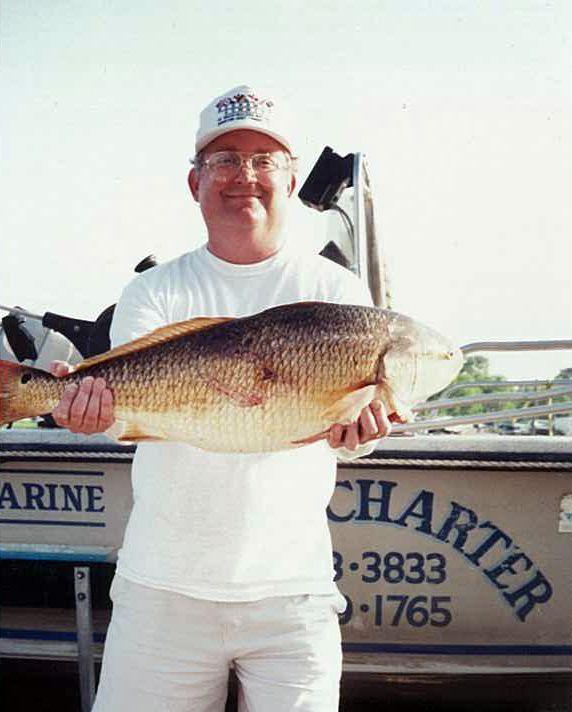 Freshwater Redfish at Lake Calavaras, Texas