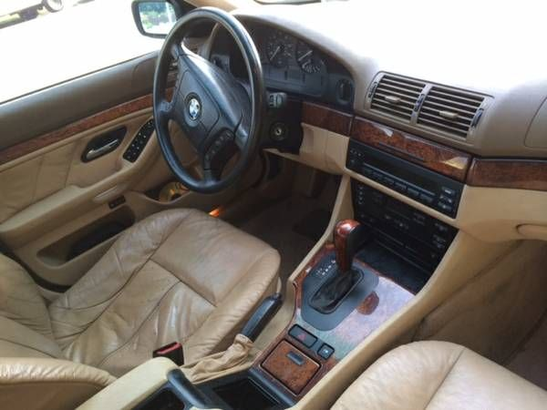 Make: BMW Model: 530i Year: 2001 Exterior Color: White Interior ...