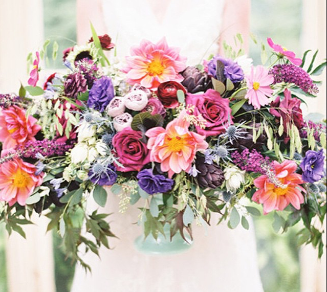 Jewel Tone Wedding Flowers: Pin By Victoria Clausen Floral Events On Bouquets