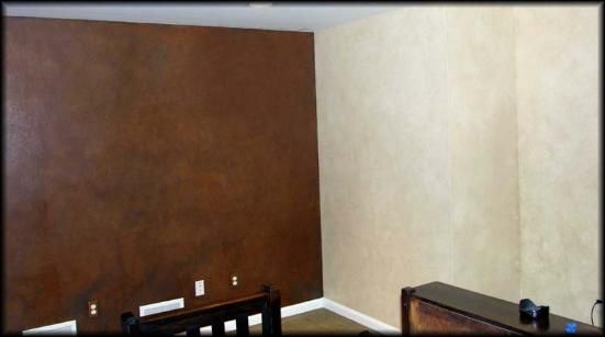 Suede Paint And Leather Walls Faux Finishing Company Scranton Pa