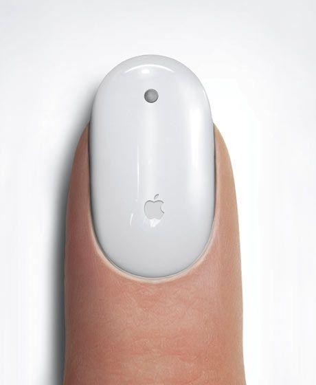 Hehehehe! Macintosh nail polish