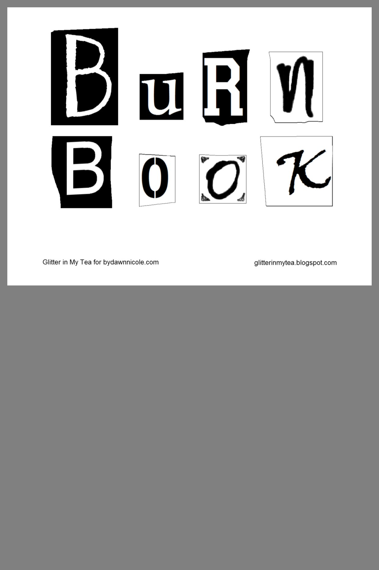 Pin By Kimberly Daly On Halloween Mean Girls Burn Book Book Template Book Works
