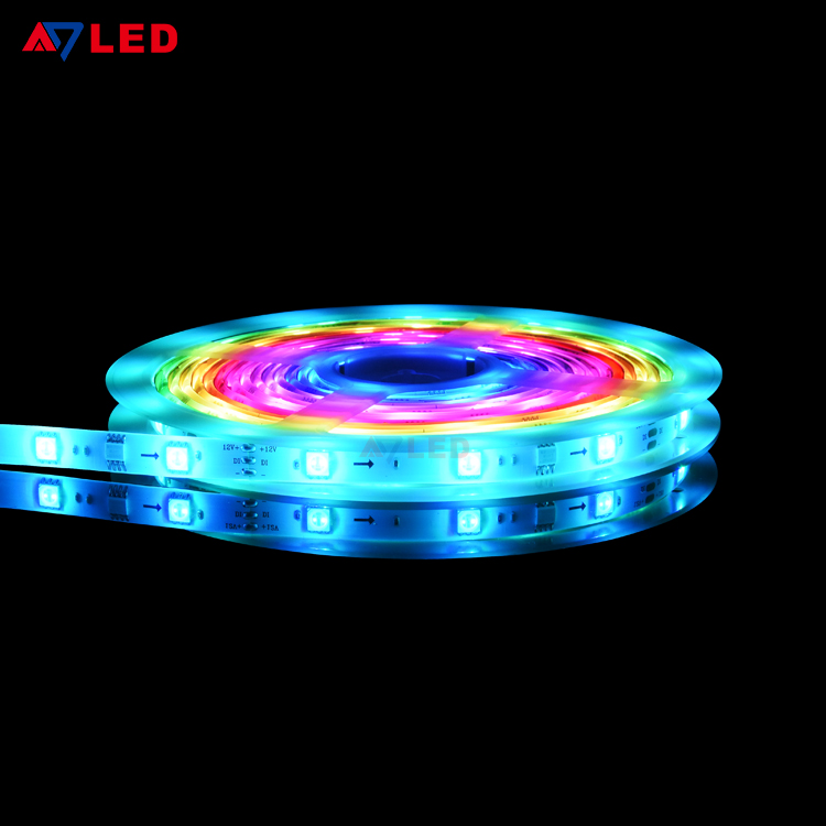 Addressable Magic Waterproof Ip65 Digital 30leds 7 2w M Full Color Ws2811 Led Strip Buy Ws2811 Led Str Led Strip Lighting Strip Lighting Rgb Led Strip Lights