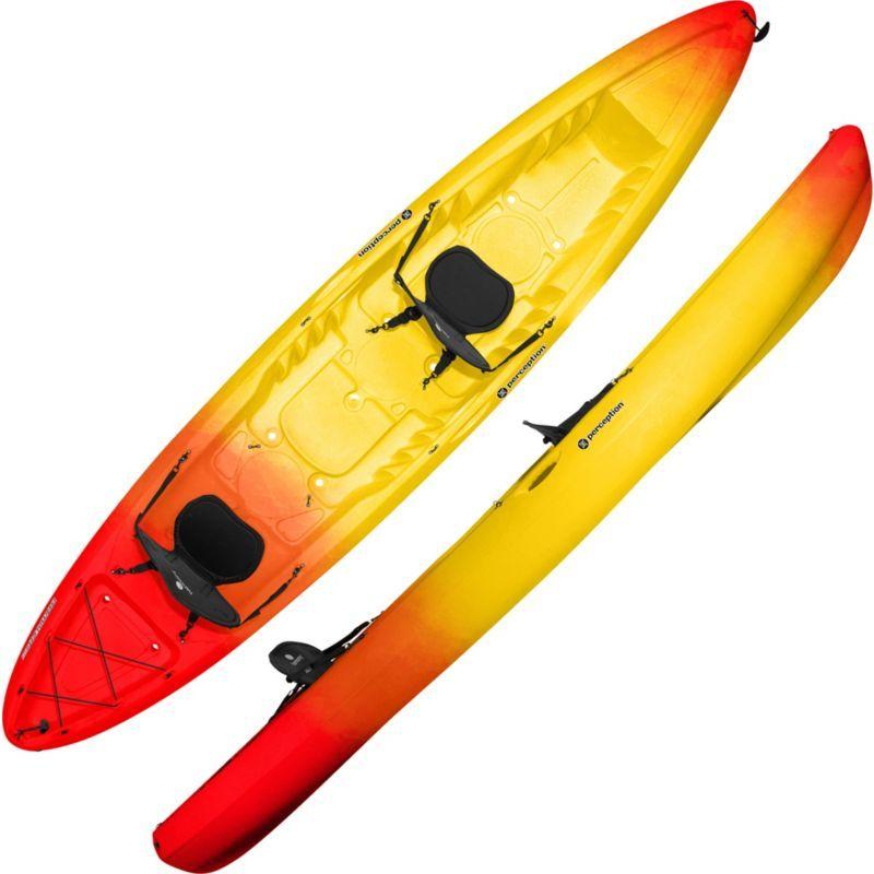 Perception Rambler 13 5 Tandem Kayak | Products | Kayaking