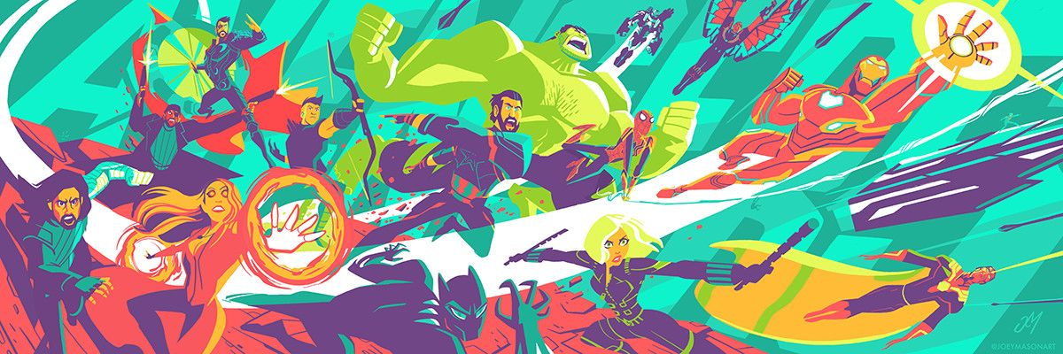 Avengers Assemble (by Joey Mason) | Avengers, Movie poster ...