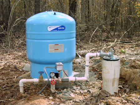 well house equipment | This is a TypicalDeep Well Pump Set-Up, 1HP on
