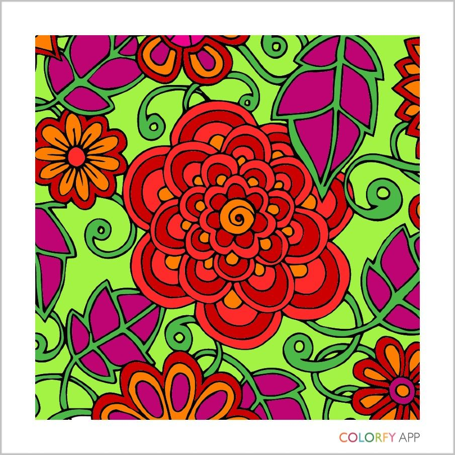 Pin by Kriste Camsky on Adult Coloring Books | Pinterest | Adult ...