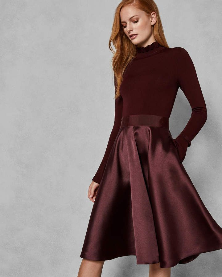 c32a81604be4 Ted Baker ZADI Frill cuff dress