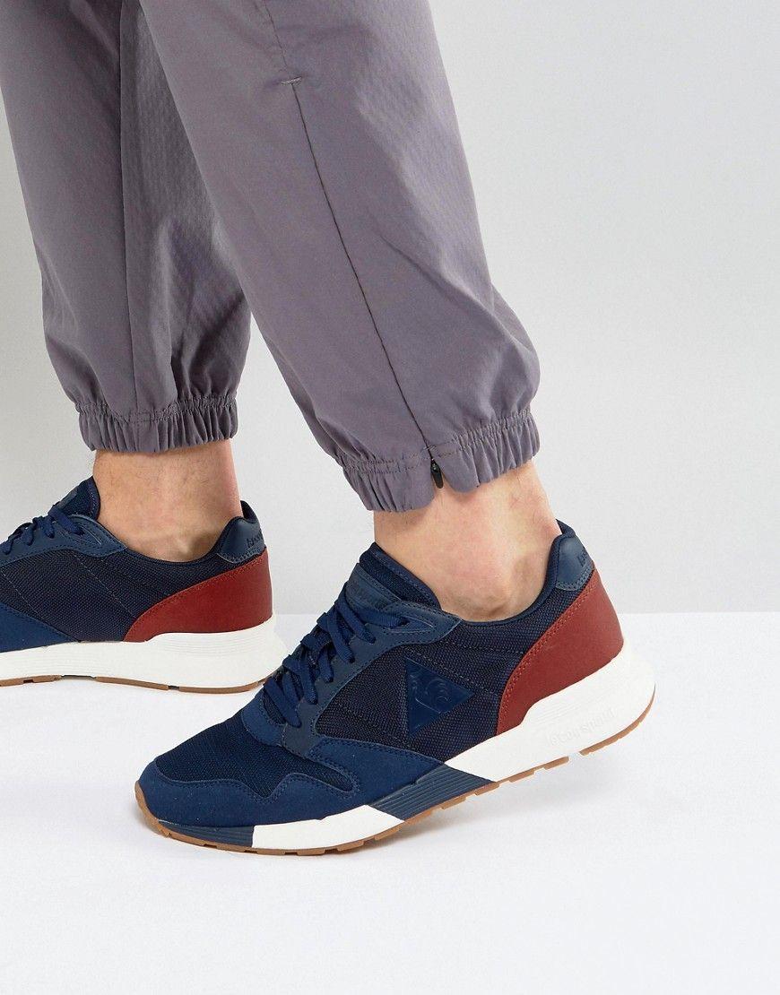 bc406ef8e0e5 LE COQ SPORTIF OMEGA X CRAFT SNEAKERS IN BLUE 1720545 - BLUE.  lecoqsportif   shoes