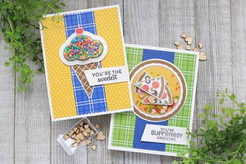 Schütteln Sie es mit Shaker-Karten und Briefmarken  – Jillibean Soup Card Ideas