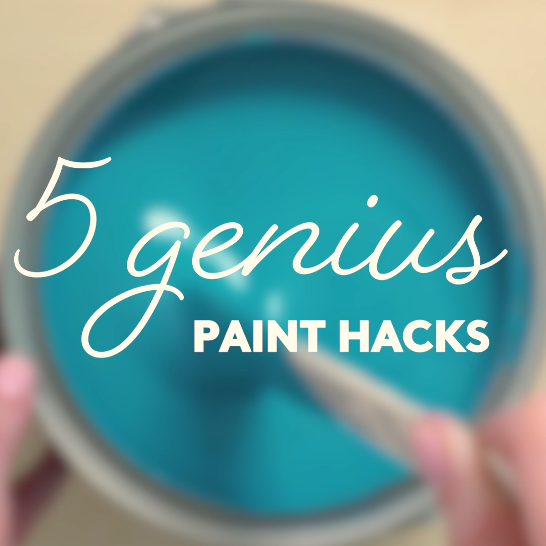 5 Genius Paint Hacks 5 Genius Paint Hacks  Painting a room or a piece of furniture or a staircase is a messy job And doing it right requires a serious time commitment But...
