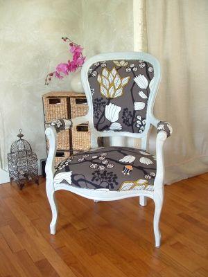 fauteuil d 39 artiste vous avez relook un meuble montrez nous vieux meubles restaur s. Black Bedroom Furniture Sets. Home Design Ideas