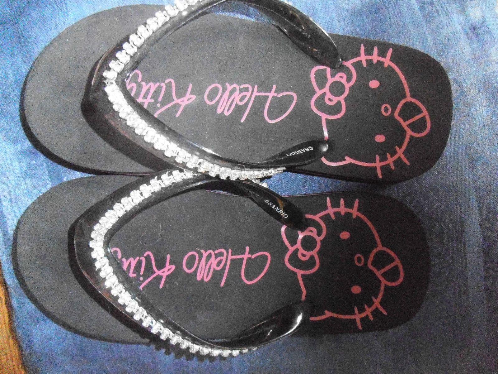 Fresh x Zehentrenner Stario Hello Kitty Sandale Strass Sanrio eBay