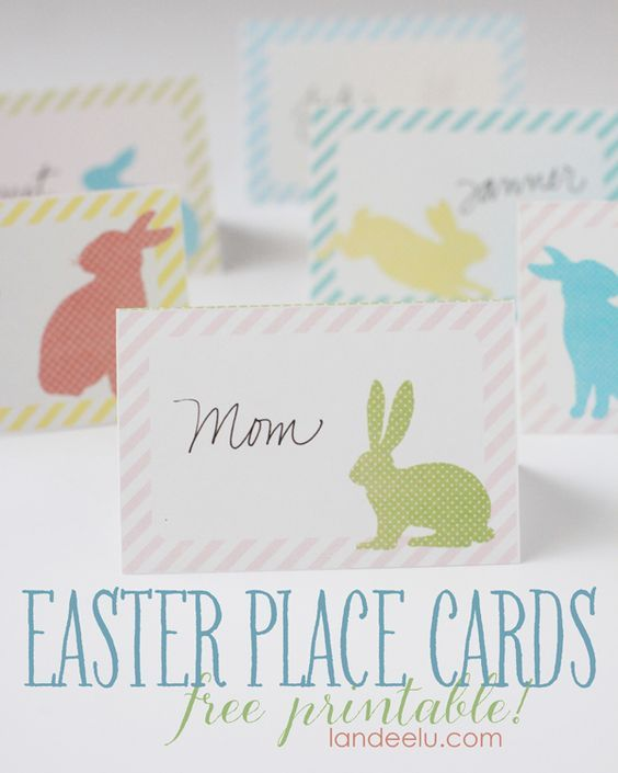 photograph about Easter Place Cards Printable identify Easter Space Playing cards totally free printable! Correct Printables