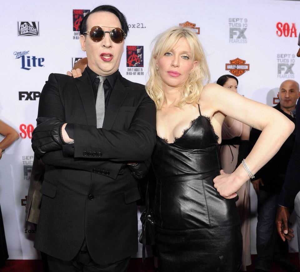 Sons Of Anarchy Courtney Love Manson Marilyn Manson