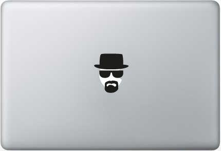 Stickers Macbook 11-13-15-17 inches - Heisenberg