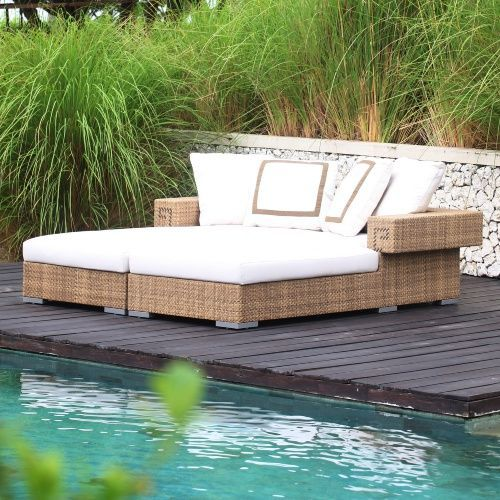 DANN Foley Hollywood Chaise Daybed - Outdoor Daybeds at Hayneedle