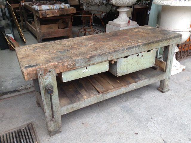 Banco Da Lavoro Usato Brescia : Vecchio tavolo da falegname pinterest