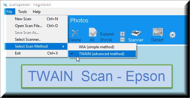 TWAIN Photo Scanning - Epson in 2019 | Declutter | Photo fix