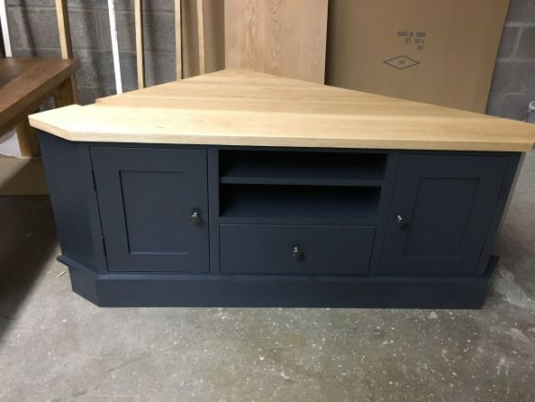 Bespoke Corner Tv Unit Made To Order Painted In F Amp B