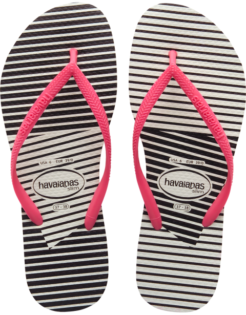 41bad7cc9fbaf3 They are very comfortable and ready to wear with any outfit... Havaianas  Slim Graphic White Pink Flip Flop  flopstore.my