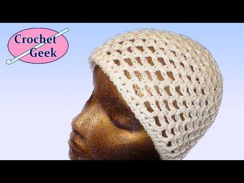 a42baf93e20 How to Crochet a lightweight skull cap beanie « Knitting   Crochet     WonderHowTo