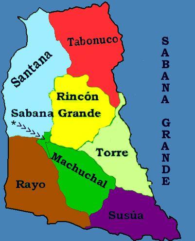Los Barrios de Sabana Grande, Puerto Rico. Sabana Grande is a ...