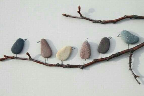 Rock wire and branches and you can create birds on a branch rock wire and branches and you can create birds on a branch love solutioingenieria Images