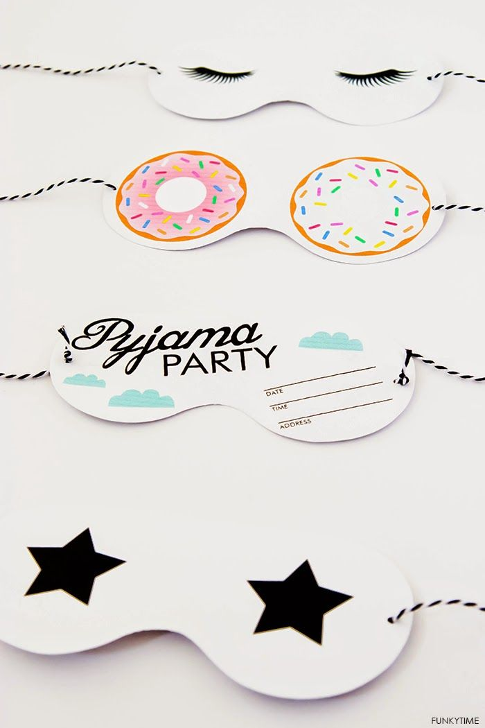 Art And Chic - pyjama party printable | Crafts + Projects with Darby ...