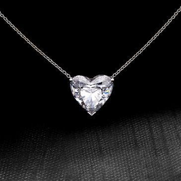 Dear future boyfriend heart cut diamond necklace heart cut diamond necklace mozeypictures Images