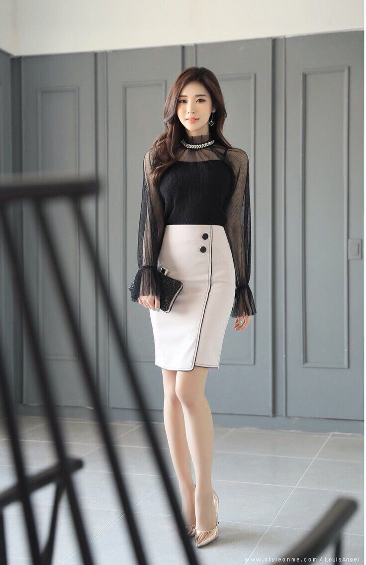 Photo of Luxurious office dress set no less attractive Dress offices