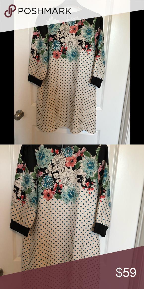 6932b744 Polka dot floral dress New with tag Zara Dresses | My Posh Picks in ...