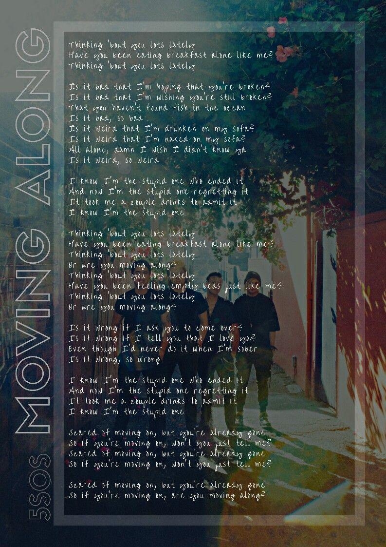 Moving Along Lyrics Youngblood 5sos Baldingandhairloss Piosenki 5sos