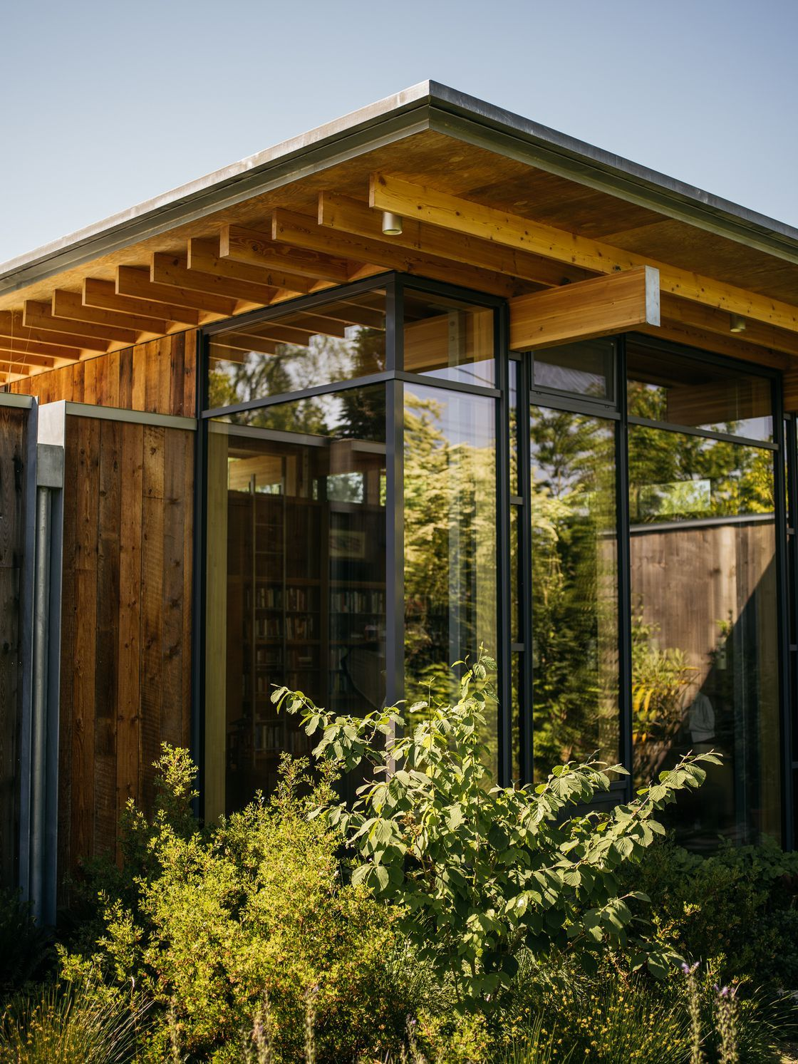 Inside A Net Zero Cabin In The City By Olson Kundig Timber Architecture Architecture House Architecture