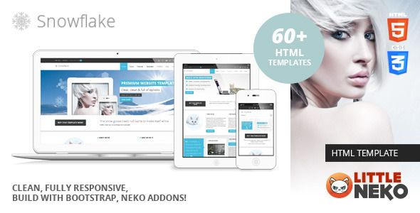 Snowflake | Responsive Bootstrap Website Template